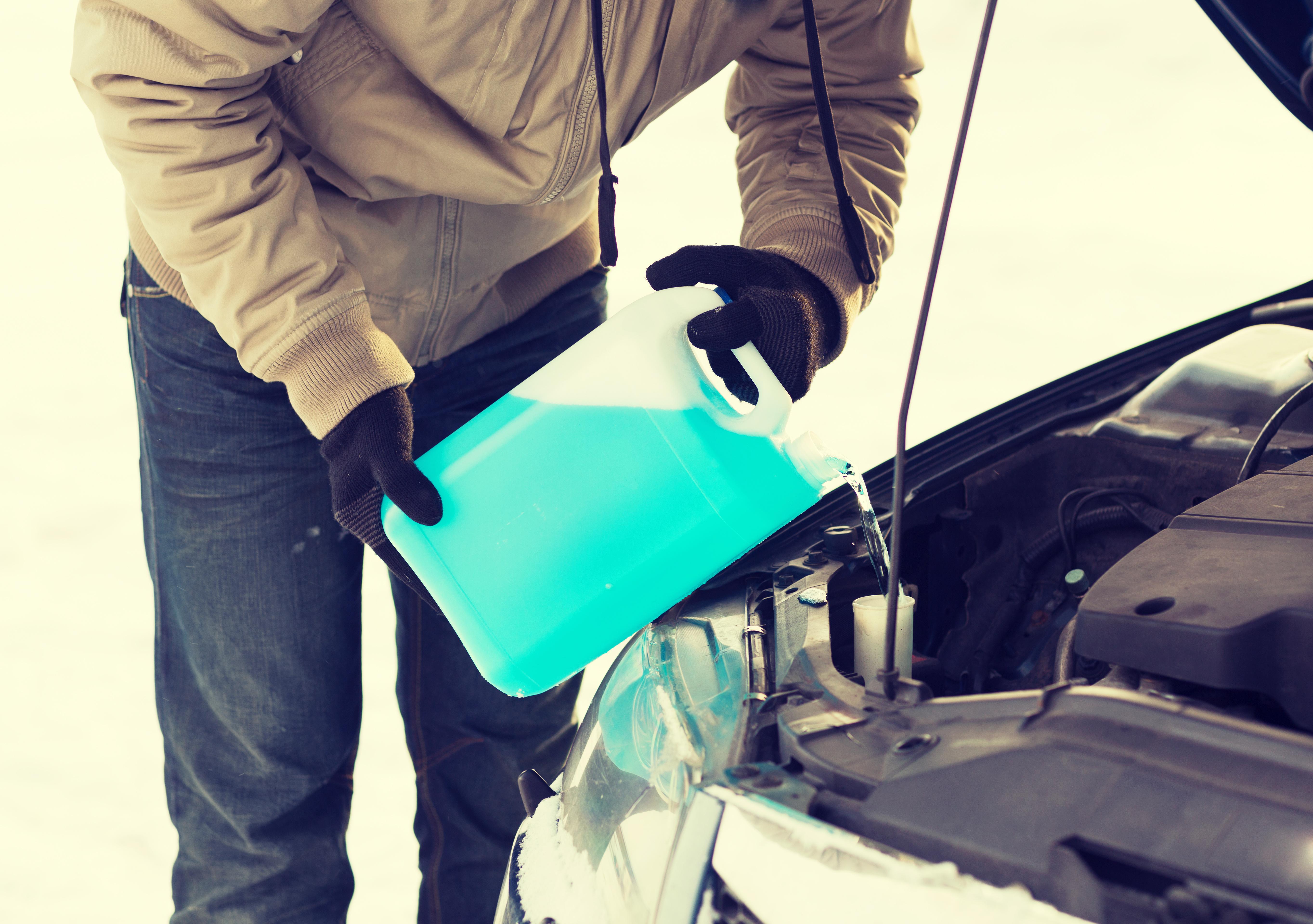Как сделать омывайку для машины зимнюю