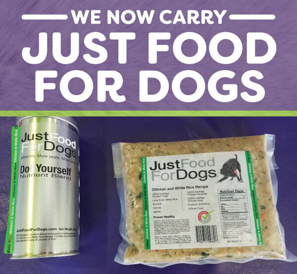 We now carry just food for dogs